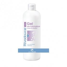 Gel Dermatologique Rivadouce Corps et Cheveux 500 ml