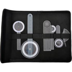 Kit 6 pièces Goniomètres plastique ou acier - Saehan - MSD Europe