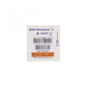 BD Microlance 3 0,5X25mm Nr18 25G (Orange)