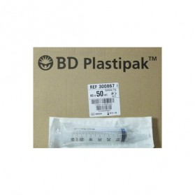 Seringue 50 ml 3 Corps BD Plastipak (Catheter)