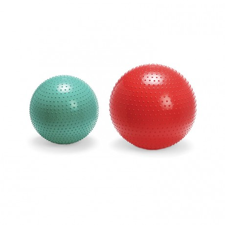 Ballon de gymnastique surface sensorielle