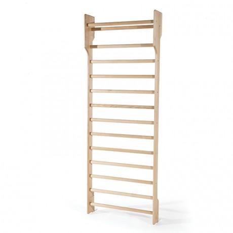 Espalier simple en bois 13 barreaux+1